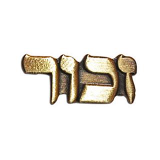 ZACHOR Pins